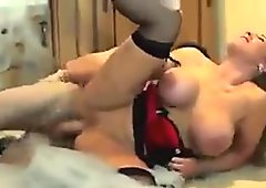 Hot blonde get stuffed by monster cock
