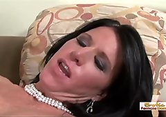 Dirty mommy is on a hunt for big black dick again