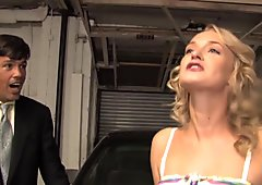 Poor father Watches  daughter Kensey Knox Takes BBC