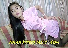 High Class Thailand Girlie gasps cutely