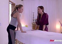 Abigail Mac & Aubrey Star Romantic Lesbian Sex