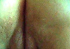 射在阴户或肛门处的精液