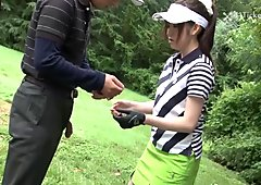 Michiru Tsukino Creampied by Golf Coach (Uncensored JAV)