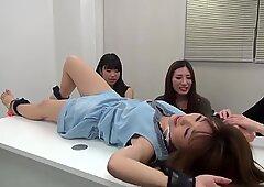 asian tickling