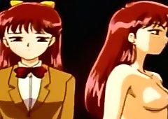 Busty Anime Schoolgirl Tentacle Sex