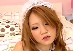 Sakamoto Hikari plays French maid