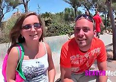 Ficken und Feiern auf Mallorca!