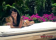 Great body amateur teen Gina Valentina is one delicious teenager