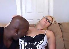 Lingerie Hottie Bangs New Black Cock
