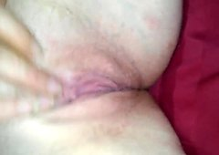 Sexy redhead playing with pussy till she orgasms