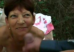 Tettona nonna gioca con i suoi fidanzati enorme verga in punto di vista