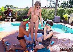 Brunette milf shower Stepmom Turns Wet Dreams Into Reality - Cory Chase