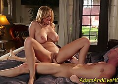 Milf eaten out and fucked