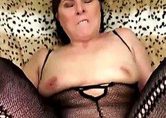 Hairy Granny In An Underwear