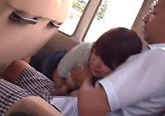 Fabulous Japanese chick Marina Shiraishi in Crazy couple, outdoor JAV video