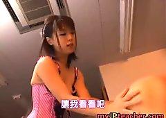 Bunko Kanazawa Lovely Japanese teacher