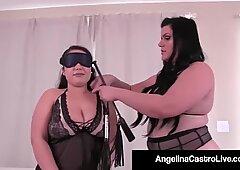 Obesiti perempuan Bangsa Latin Angelina Castro menghukum sangat Super-Sexy Veronica!