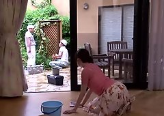 AzHotPorn.com - Big-Breasted Wife Banged By Huge Cock