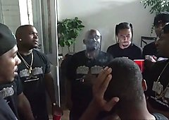 Madelyn Monroe Gets Her Throat Poked By Black Dicks