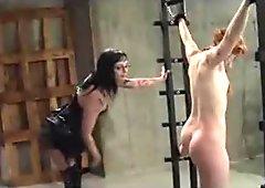 Pussy Torment And Spanking bdsm bondage slave femdom domination