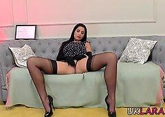 Seasoned stockings lesbian tonguing
