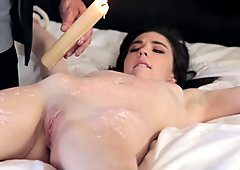 Jenna Reid is bound and gets fucked