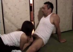 Big butt Japanese MILF has sex with her hubby