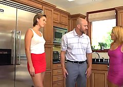 DevilsFilm Wife Watches Husband Fuck Mistress