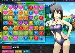 Lets Play Huniepop- Never going to get laid if this keeps up!