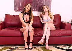 Big Tit Voluptuous Babes Getting Wild With Dildos and Hitachi in Live Show