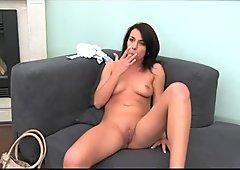 FakeAgent Her pussy devours my cum