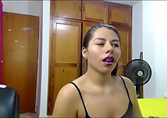 Grasso figa latina culo telecamera ragazza